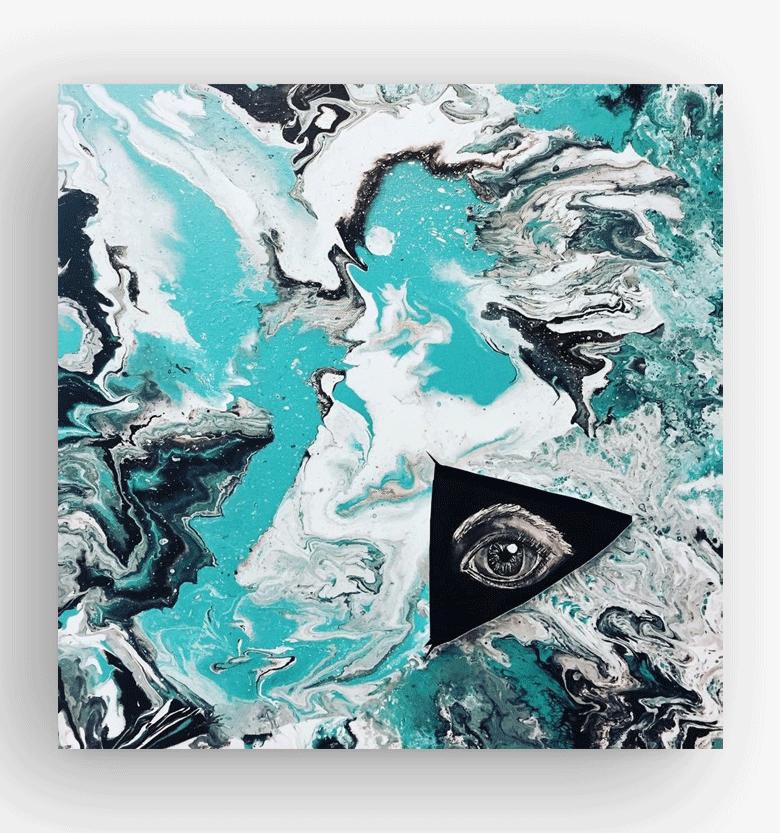 vida-liquida-mirando-hacia-dentro-acrilico-sobre-lienzo-50x50
